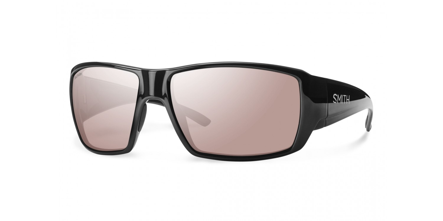 3f156c935ee6 Smith Guide's Choice Prescription Sunglasses featured in Matte Black with  ChromaPop Polarchromic Ignitor