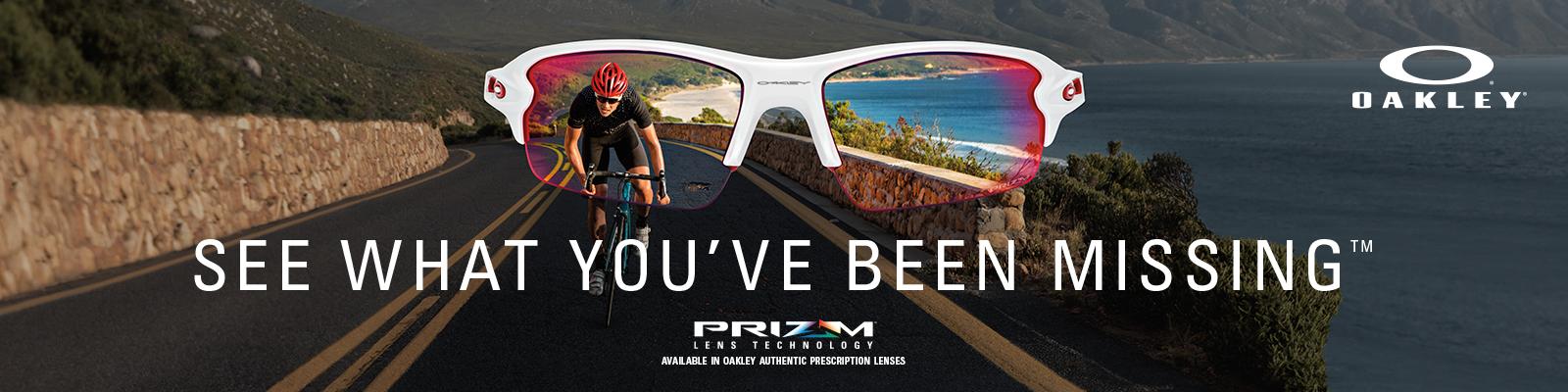 b5f94e7489 Oakley PRIZM Black Polarized Available in Prescription!