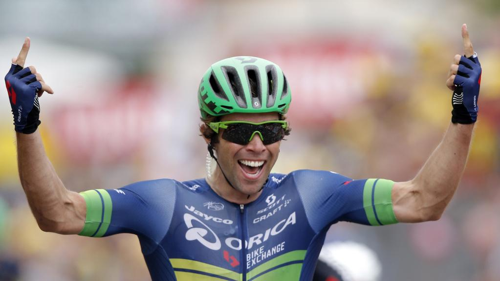 Michael Matthews wearing Bolle 5th Element Cycling Sunglasses, Tour de France 2016, Prescription Bolle cycling glasses