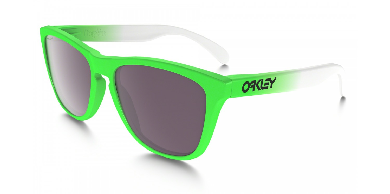 Oakley Frogskins Green Fade PRIZM Daily Polarized Sunglasses