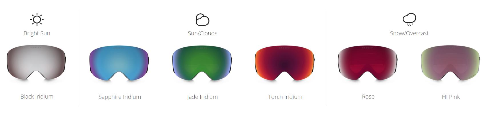 PRIZM Snow Lenses