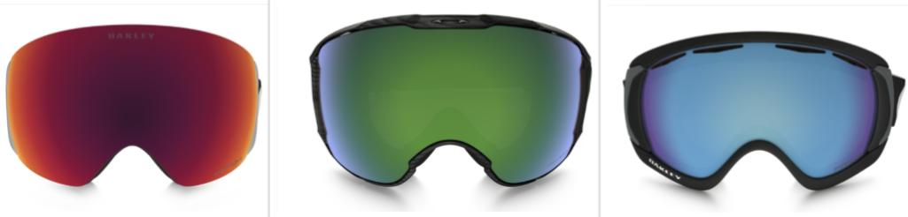 Oakley Prizm Snow Lens, SAPPHIRE, TORCH, JADE IRIDIUM