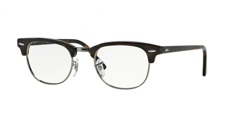 Ray-Ban 5154 Clubmaster in Dark Havana
