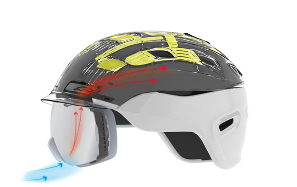 Smith helmets, ultimate integration, AirEvac Ventilation System