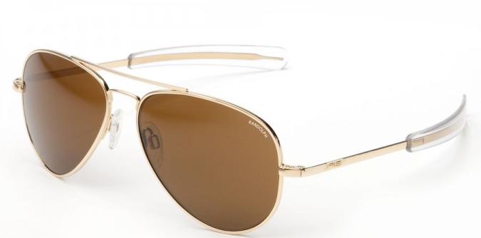 Shop for RANDOLPH ENGINEERING CONCORDE 57MM BAYONET TEMPLE prescription aviator sunglasses at SportRx