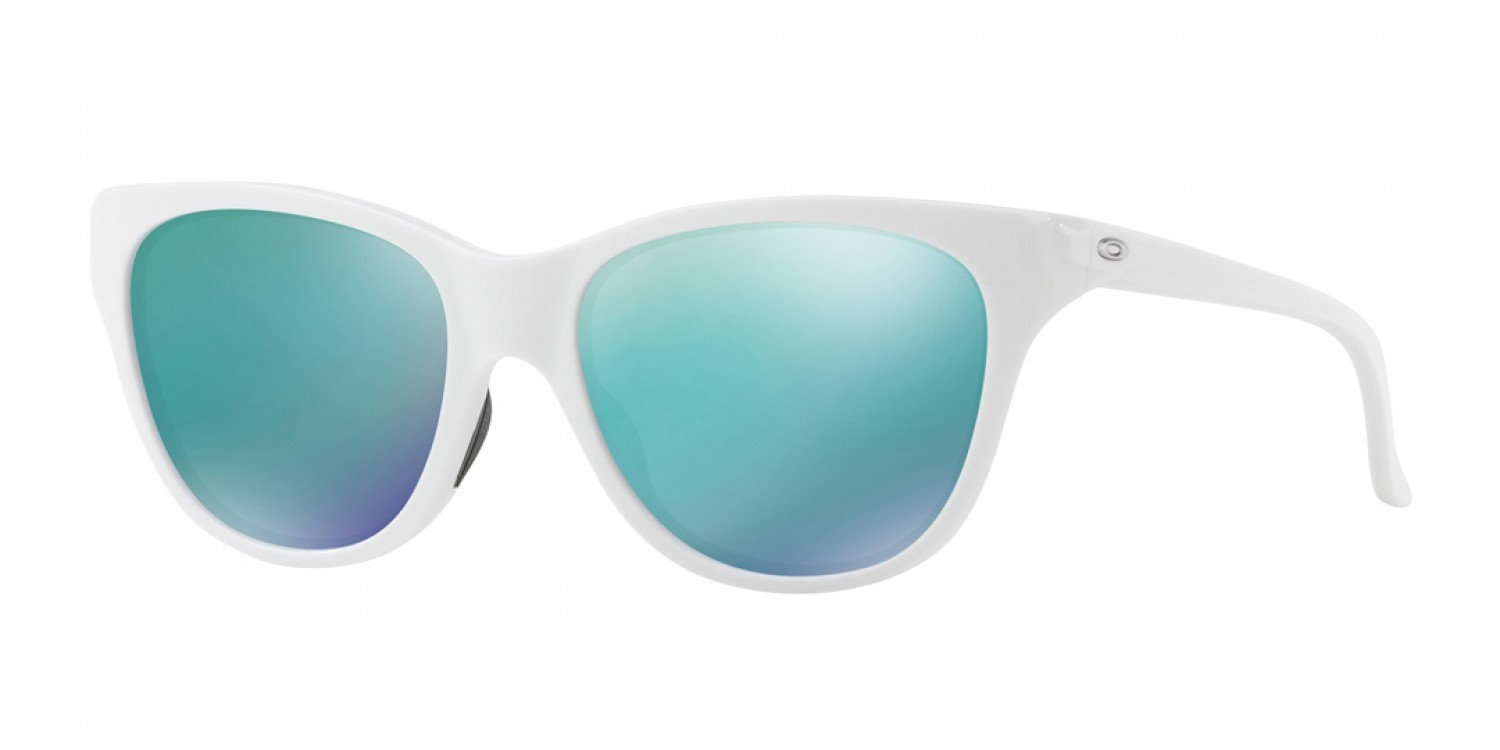 Oakley Hold Out Sunglasses - Matte White