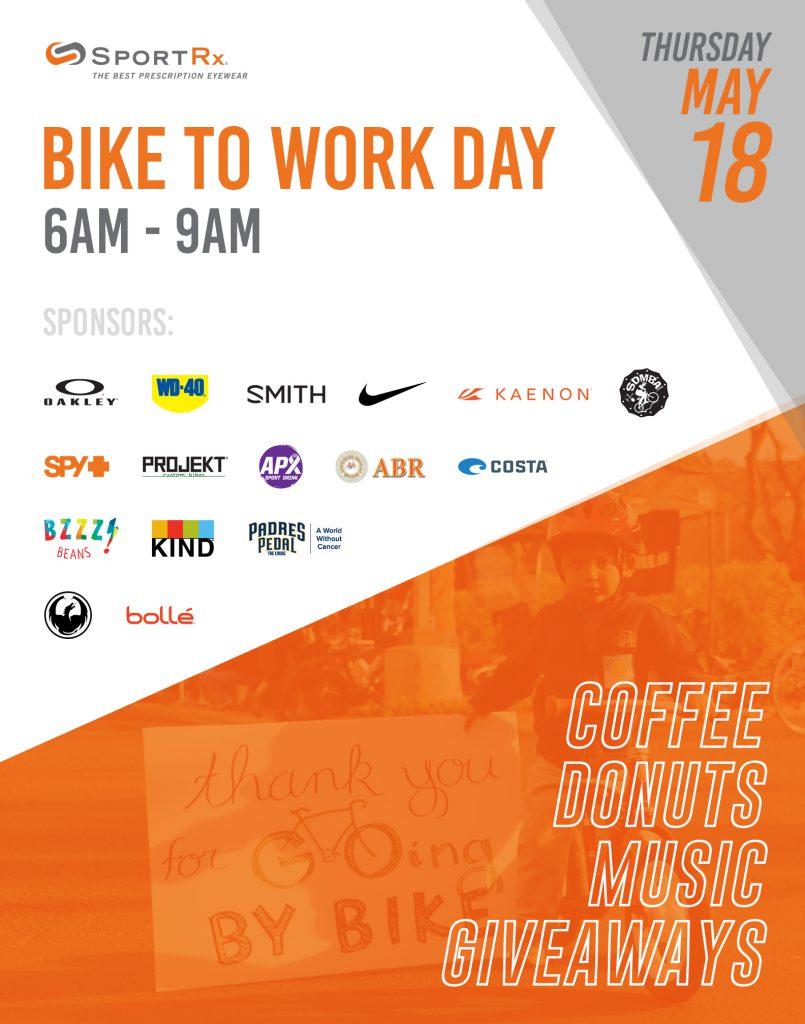 Bike to Work Day 2017, San Diego