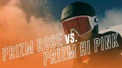 Oakley Prizm HI Pink vs Rose | Oakley's Low Light Goggle Lenses