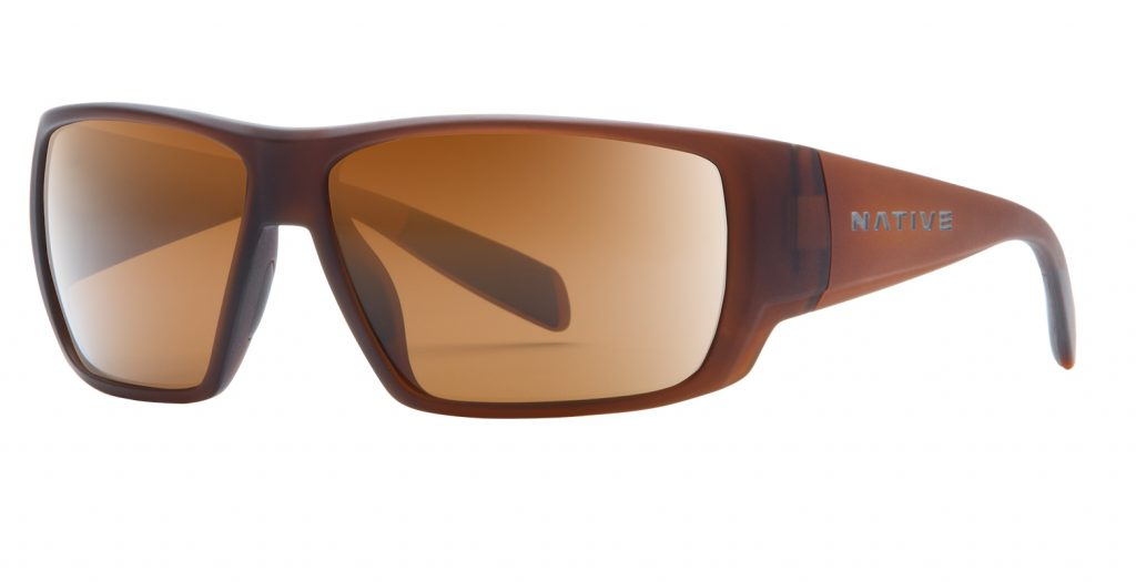 Native Sightcaster Matte Brown / Brown Lens