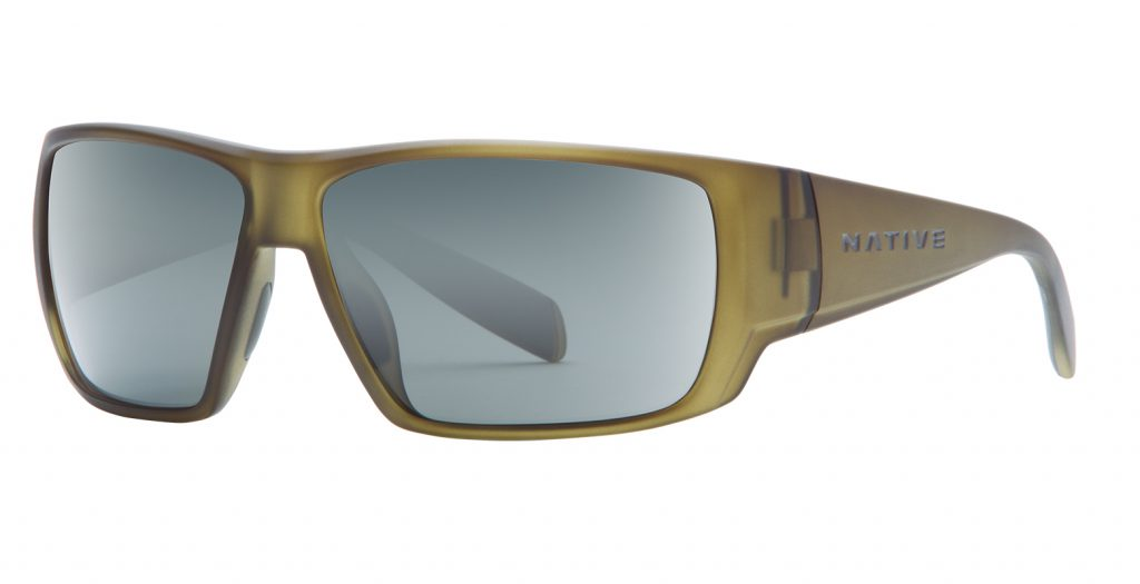 Native Sightcaster Matte Moss / Gray Lens