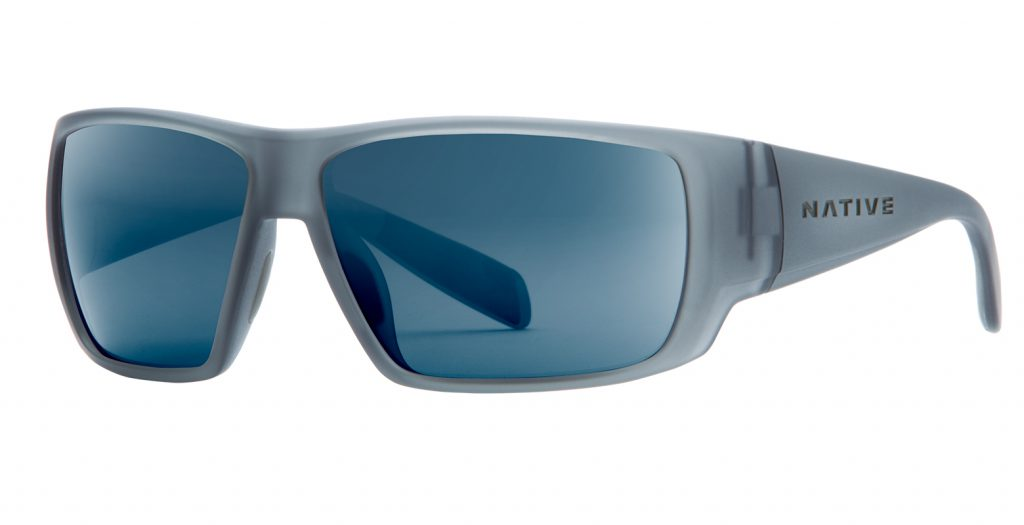 Native Sightcaster Matte Smoke Crystal:Blue Reflex