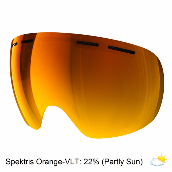 Spektris Orange Poc Snow Goggle Lens