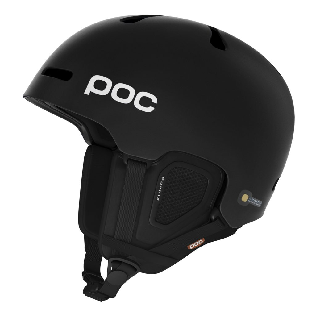 POC Fornix Helmet Snow Helmet in Black at SportRx