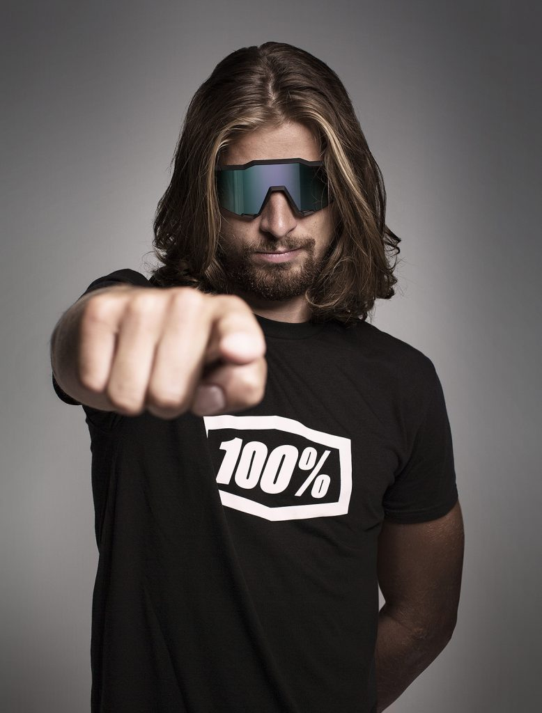 Peter Sagan wears 100% Speedcraft Sunglasses