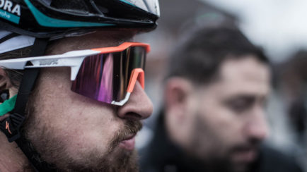 35d673f9257d Peter Sagan Wears 100% Speedcraft Sunglasses