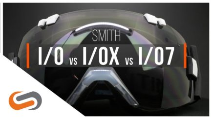 SMITH I/O vs I/OX vs I/O7 Goggles