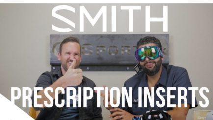 SMITH Snow Goggles | Prescription Goggle Insert