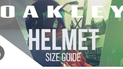 Oakley Snow Helmet Size Guide | SportRx
