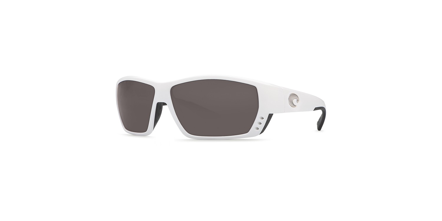84d359420fc Costa Tuna Alley in White with Gray lens