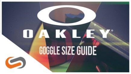 2018 Oakley Goggle Size Guide | SportRx