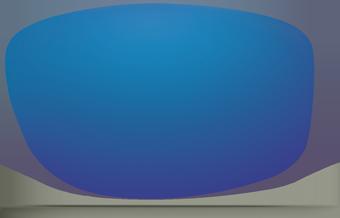 Blue Mirror Lens, Costa Fishing sunglass lens