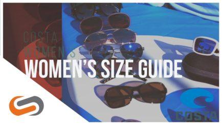 Costa Women's Sunglasses Size Guide