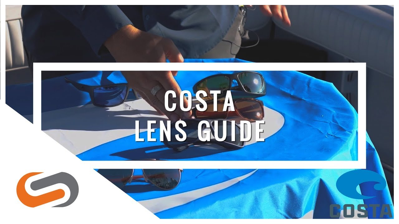 Costa Lens Color Guide | Polarized Sunglasses