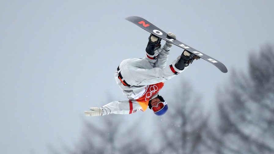 Ben Ferguson Wearing Anon M3 at the 2018 Winter Olympics