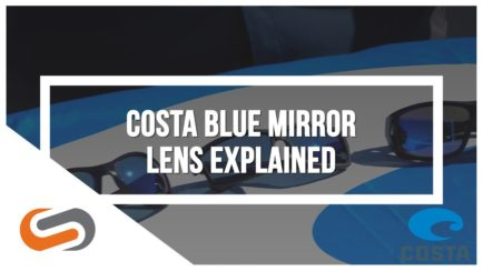 Costa Blue Mirror Lens | Costa Sunglasses | SportRx