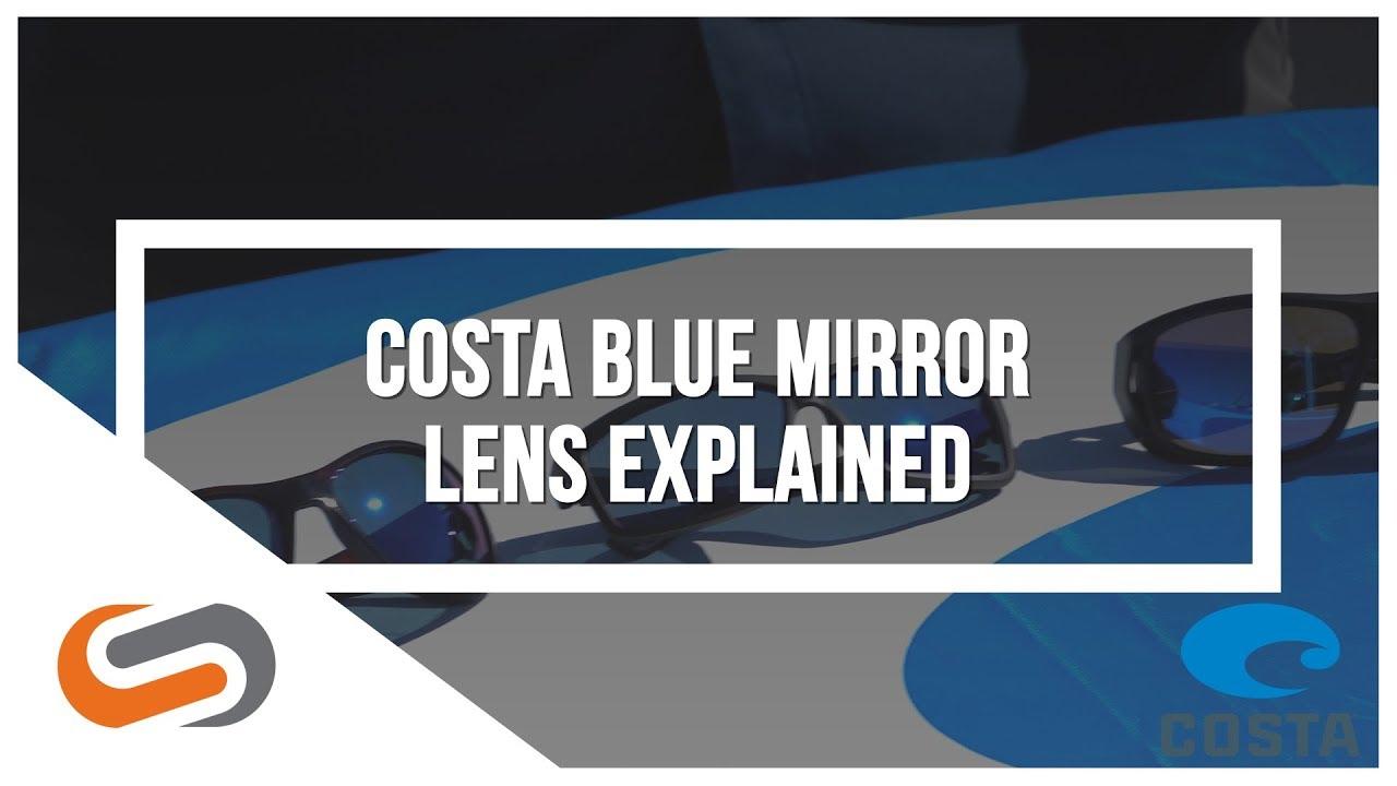 Costa Blue Mirror Lens | Costa Sunglasses | SportRx