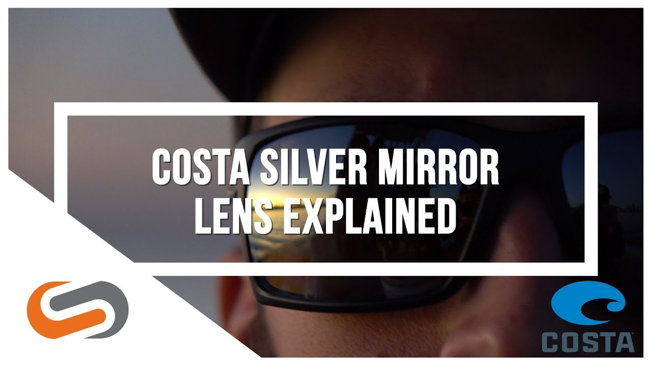 Costa Silver Mirror Lenses Comparison | Costa Sunglasses