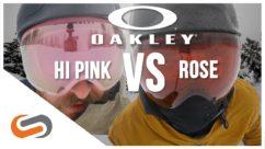 Oakley Prizm HI Pink vs Rose UPDATE | Oakley's Low Light Goggle Lenses | SportRx