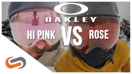 Oakley Prizm HI Pink vs Rose UPDATE | Oakley's Low Light Goggle Lenses | SportRx
