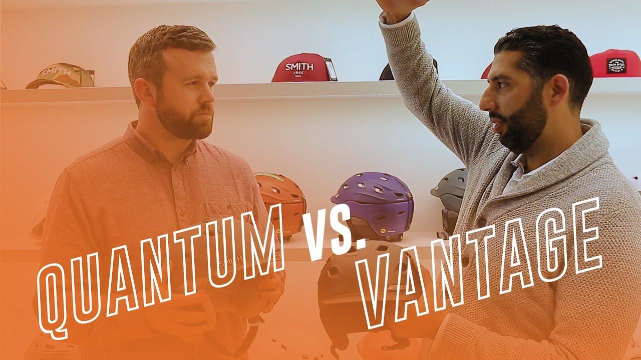 Smith Helmet Review: Quantum vs Vantage | Comparison Guide
