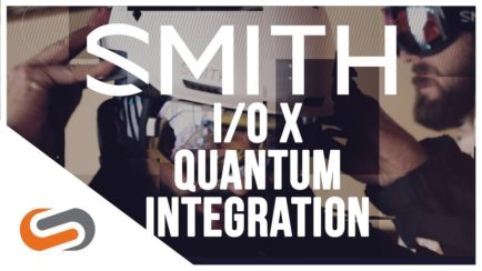 SMITH I/O X and Quantum Helmet Integration