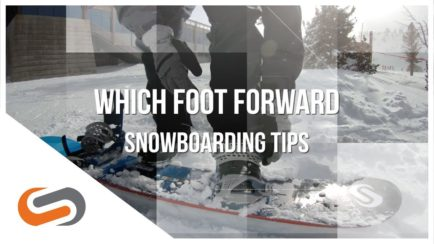 Snowboarding Tips: Which Foot Forward? | SportRx