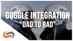Snowboarding Helmet and Goggle Integration - From Dad to Rad