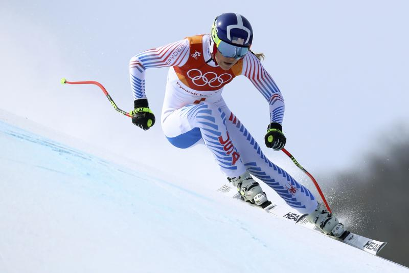 4f5b95df69 Lindsey Vonn Wearing Oakley Flight Deck