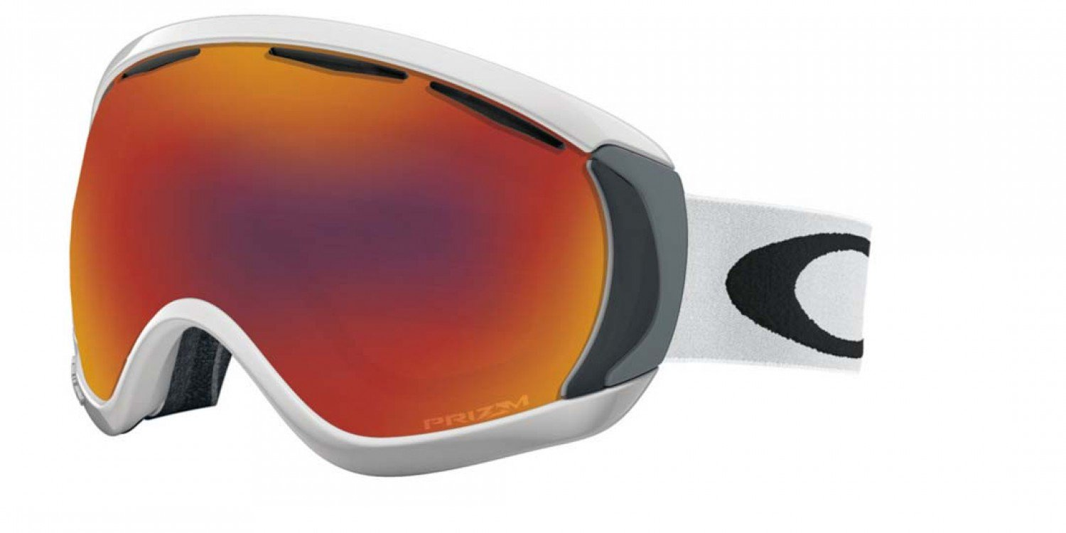 Oakley Canopy in Matte White with Prism Torch Lens