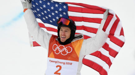 Shaun White at The 2018 Winter Olympics | Anon M3 Snow Goggle | SportRx