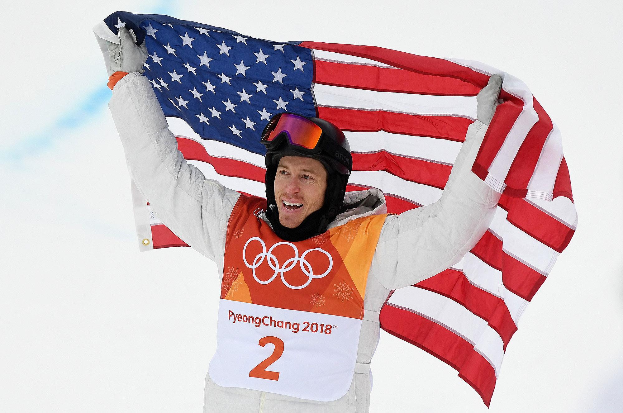 Shaun White Wearing Anon M3 at the 2018 Winter Olympics