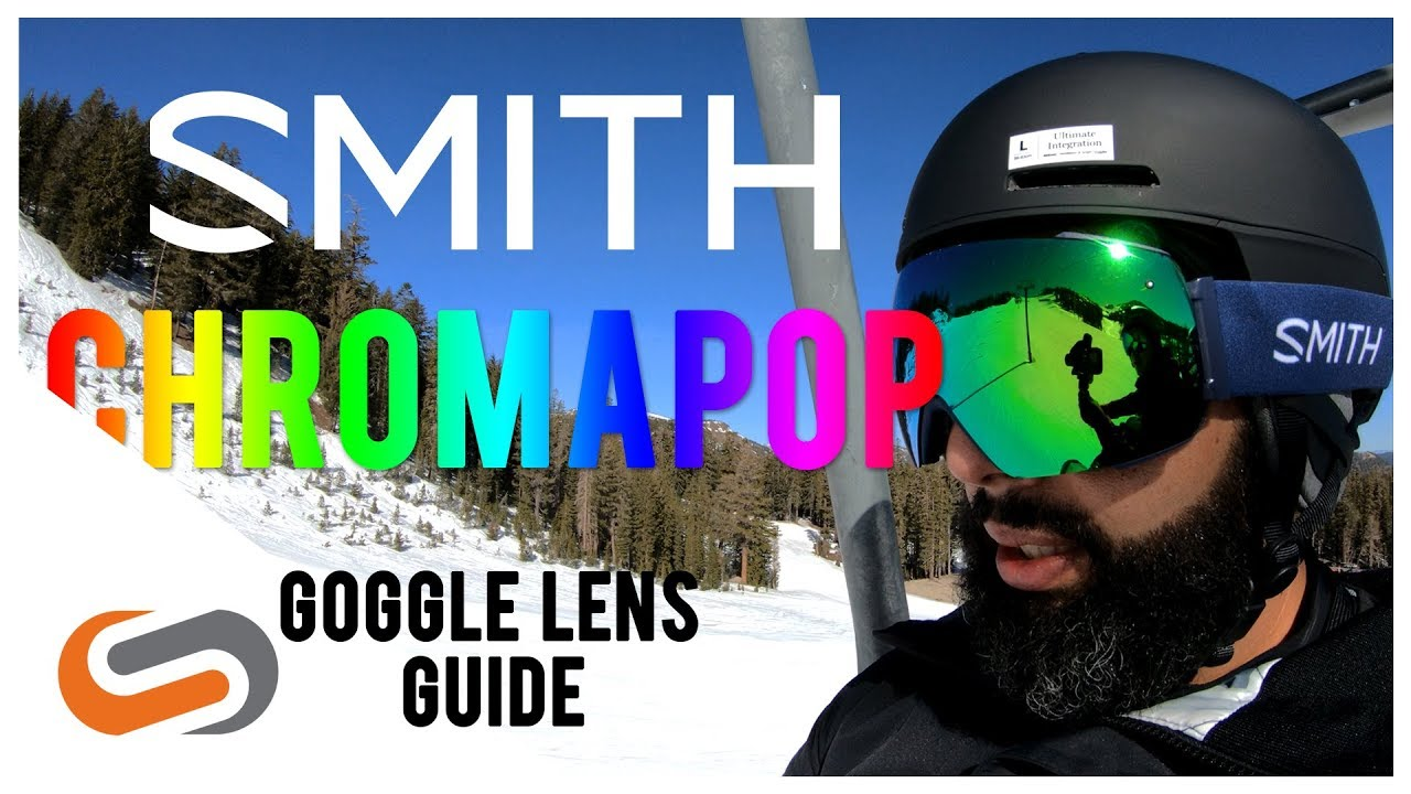 ce8b0bd2c Smith ChromaPop Goggle Lens Guide | SportRx