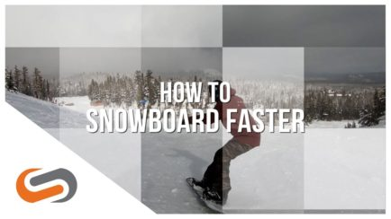 How to Snowboard Faster | How-To Guides