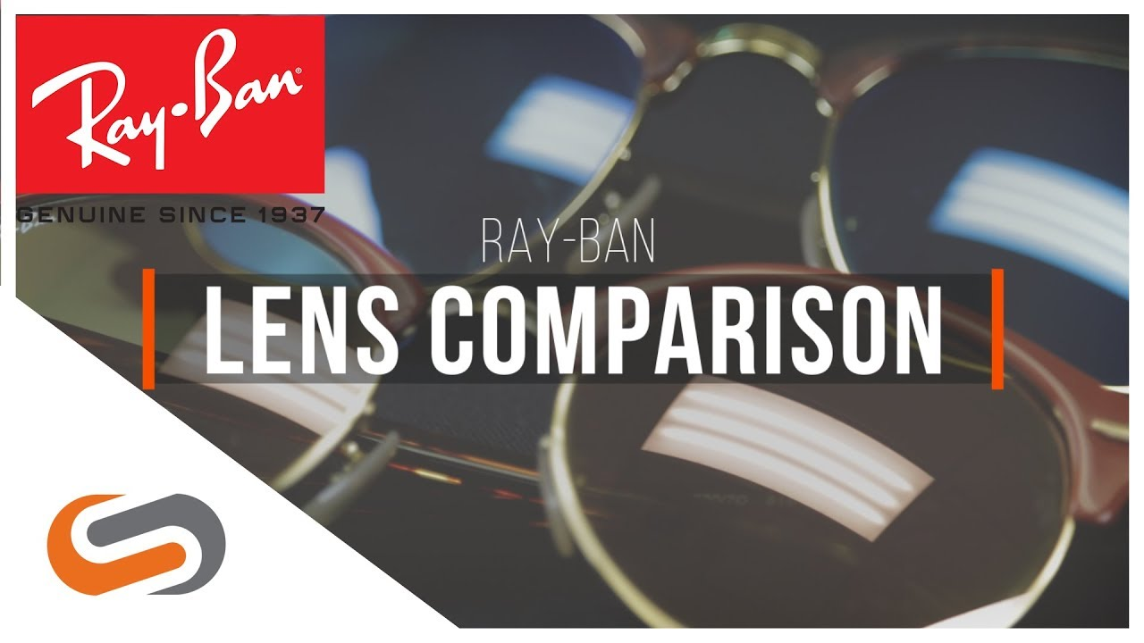 Ray-Ban Lens Comparison