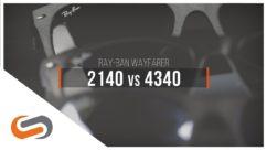 Ray-Ban Wayfarer 2140 vs 4340 | SportRx