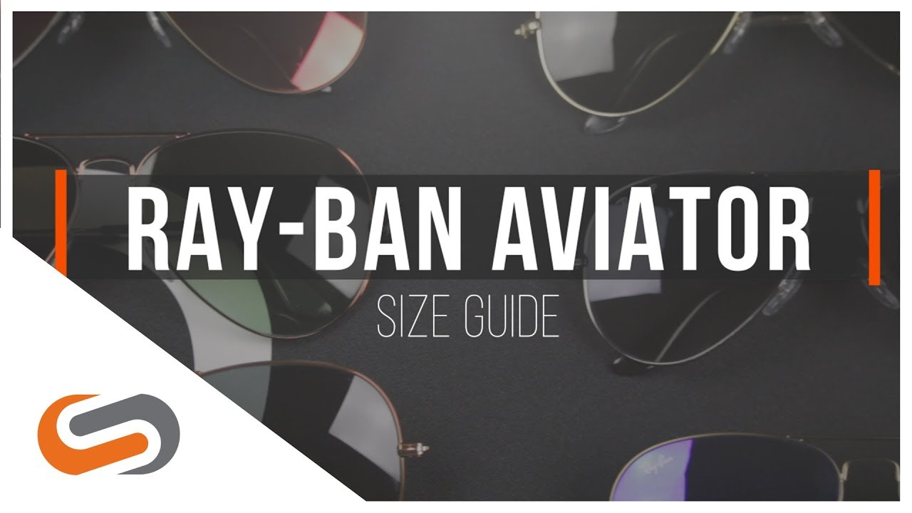 Ray-Ban Aviator Size Guide | SportRx
