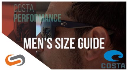 Costa Mens Sunglasses Size Guide