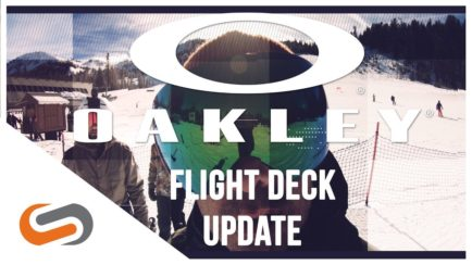 Oakley Flight Deck Goggle Update