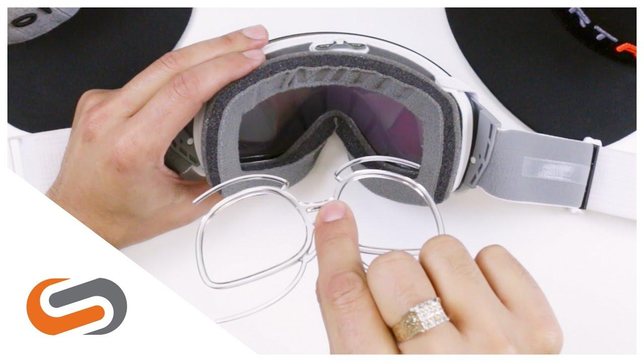 Prescription Inserts for Snow Goggles