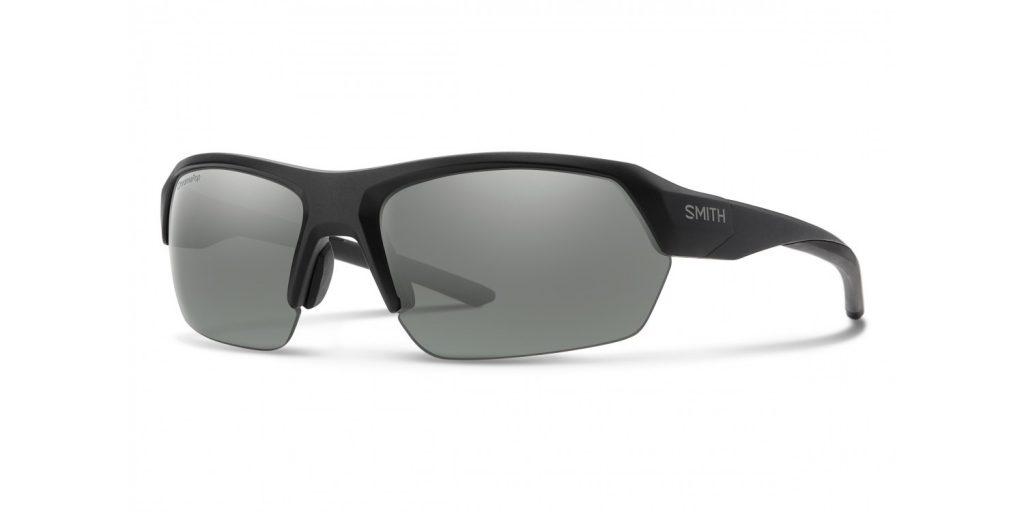 d7c469f97889 SMITH Tempo in Matte Black with ChromaPop Polarized Platinum Lenses